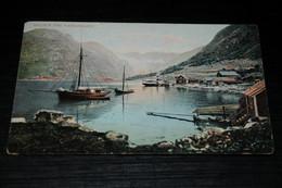 20547-                       NORGE  NORWAY, HILGEN FRA HARDANGER - 1906 - Norvegia