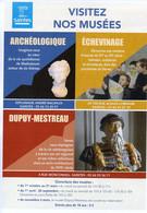 SAINTES 17 MUSEE DE L'ECHEVINAGE - Biglietti D'ingresso