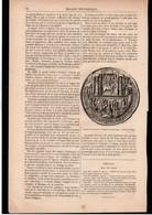 SIGILLOGRAPHIE  -- Article Coupure De Presse -- 1 Page(s) -- Année Vers 1880 - Sceau De L'Université D'Angers - Zonder Classificatie