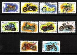 FRANCE-2002-N°3508/3517**               MOTOS - Nuovi