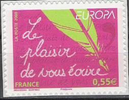 2008 France Mi. 4518 ** MNH  Self Adhesive  Europa - 2008
