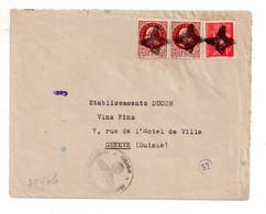 Pétain - Affranchissement Sur Enveloppe - Voir Scan - Oblitérés