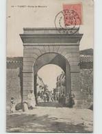 ALGERIE . TIARET ... Porte De Mascara (Foissy 14) Circulée 1906 - Tiaret