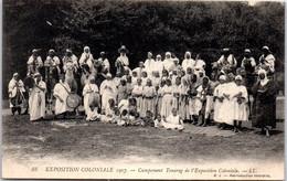 75 PARIS - Exposition Coloniale 1907, Un Campement De Touareg - Exhibitions