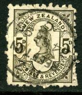 Nouvelle-Zélande 1891-95 Y&T 69 ° Publicité - Gebraucht