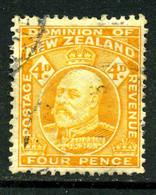 Nouvelle-Zélande 1909-10 Y&T 139 ° - Gebraucht