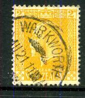 Nouvelle-Zélande 1915-22 Y&T 166 ° - Gebraucht