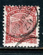 Nouvelle-Zélande Y&T Service 8 ° - Dienstpost