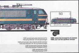 BELGIEN 1985 Mi-Nr. Block 55 ** MNH - Blocs 1962-....