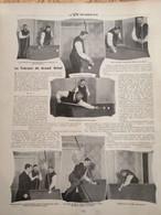 1903 BILLARD - TOURNOI DU GRAND HÔTEL - Mr CURE - Mr SUTTON - LE COMTE DE DRÉE - 1900 - 1949