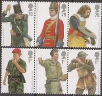 Great Britain - Gran Bretagna 2007 UnN°3011/16 6v MNH/** Uniformi Militari Britanniche - Ungebraucht