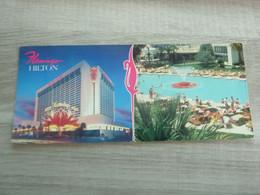 The Towering Flamingo Hilton - Las Vegas - Nevada - Année 1980 - - Las Vegas