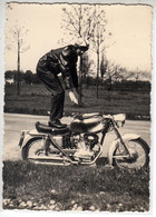 MOTO MOTORCYCLE DUCATI 200 - FOTO ORIGINALE ANNI '60? - Otros