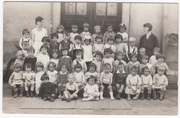 54 - Carte Photo D'une Classe à L'école - Canton De Cirey Sur Vezouze (A Identifier) - Sonstige Gemeinden
