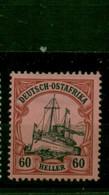 Deutsch-Ostafrika, DOA. Schiffszeichnung Nr. 37 Falz * - Colonia: Africa Orientale