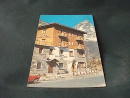 HOTEL RISTORANTE BAR LAC BLEU CERVINIA BREUIL AOSTA INSEGNA BARBERIS - Alberghi & Ristoranti