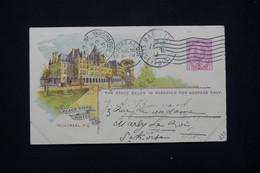 CANADA - Entier Postal Illustré De La Canadian Pacific Railway Cie  Pour La France En 1913 - L 79385 - 1903-1954 Reyes