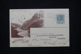 CANADA - Entier Postal Illustré De La Canadian Pacific Railway Cie  Pour La France En 1920 - L 79386 - 1903-1954 Reyes