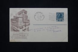 CANADA - Entier Postal Illustré De La Canadian Pacific Railway Cie  Pour La France En 1921 - L 79388 - 1903-1954 Reyes