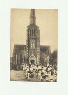 53 - COURTALLIERU - VIMARCE - Benediction De La Chapelle La Procession Quite L'église  Anmé Fanfare (clique ) Bon état - Altri Comuni