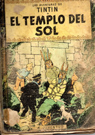 Comic Las Aventuras De Tintin  El Templo Del Sol - Old Comic Books