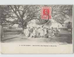 GAMBIE MACARTHY ... Beef Market In Macarthy Circulée 1911 - Gambia