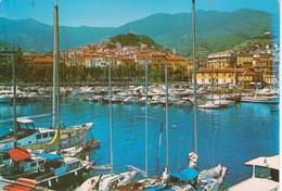 SANREMO - PORTO - BARCHE NAVI SHIPS - E PANORAMA - VIAGGIATA 1991 - San Remo