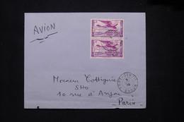 A.E.F. - Enveloppe De Port Gentil Pour Paris En 1939 Par Avion - L 79410 - Lettres & Documents