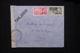 A.E.F. - Enveloppe D'un Soldat ( SP 730 ) Pour Paris En 1939 Par Avion Avec Contrôle Postal - L 79418 - Lettres & Documents