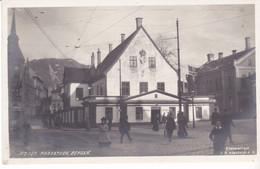 CPA Old Pc Norvege Bergen Raadstuen - Norvegia