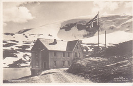CPA Old Pc Norvege Djupvandshytten - Norvegia