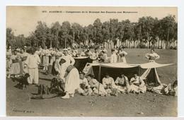 23/ CPA ALGERIE  377 Campement De La Musique Des Zouaves Aux Manoeuvres   Collection Idéale - Plaatsen