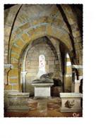 Cpm - 21 - GRANCEY LE CHATEAU - Côte D'Or - Eglise Saint-Germain - Une Chapelle Et La Pieta (auteur Serraz) Cc 15 Cim - Autres Communes