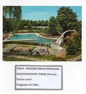 Salsomaggiore Terme (Parma) - Piscina Leoni - Viaggiata Nel 1968 - (FDC26351) - Parma