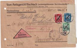 ALLEMAGNE  1927 LETTRE EN CONTRE REMBOURSEMENT DE VIECHTACH - Brieven En Documenten