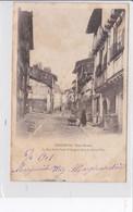 PARTHENAY  *  La Rue De La Vault Saint-Jacques Dans La Basse Ville  -  CPA En Bon état - Parthenay