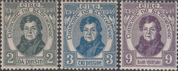 Ierland 1948. Daniel O'Connell. Michel 52-54 - Unused Stamps