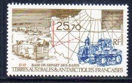 T.A.A.F - P.A N°127 ** (1993) - Posta Aerea