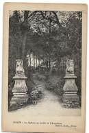 Dijon : Les Sphinx Du Jardin De L'Arquebuse (Editeur Aubert) - Dijon