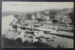 CPA 29 PONT AVEN - Vue Générale Des Quais - Les Villas - Au Quai, Forains, Cirque Méridional - Villard 6783 - Réf. O 159 - Pont Aven