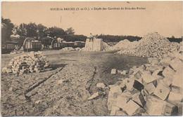 91 SOUZY-la-BRICHE  Dépots Des Carrières Du Bois-des-Roches - Otros Municipios