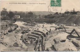 91 JANVILLE-sur-JUINE  Carrières De Pocquancy - Andere Gemeenten