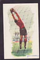 CPSM MASSA Jean Illustrateur Football Circulé - Fussball
