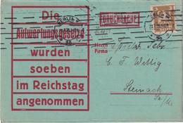 ALLEMAGNE 1925 LETTRE DE BERLIN - Brieven En Documenten