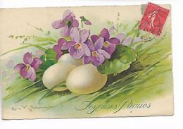 Illustrateur KLEIN Joyeuse Pâques Oeufs 1927 ....G - Klein, Catharina