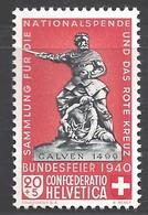 Schweiz Michel Nummer 368 Postfrisch - Ongebruikt