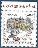 Graveur Sur Métal - Métier D'art BDF (2020) Neuf** - Neufs