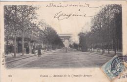 75 PARIS  Avenue De La Grande Armée, Tramway Circulée En 1904 - Distrito: 16
