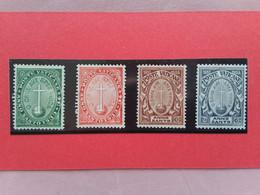 VATICANO - Anno Santo 1933 - Nn. 15/18 Nuovi * + Spese Postali - Unused Stamps