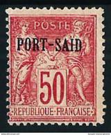 Port-Said (Francés) Nº 15 Nuevo* Cat.21€ - Unused Stamps
